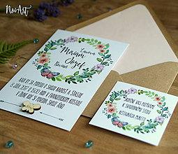 Papiernictvo - Svadobné oznámenie 31 - 9534995_