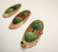 Magnetky - Inšpirované prírodou - strom I,II,III - 9535579_