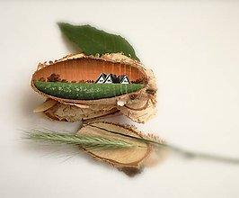Magnetky - Inšpirované prírodou - oranžové nebo - 9535649_