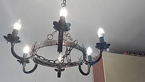 Svietidlá a sviečky - Luster šesťcípy - 9534897_