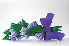 Kvetinová čelenka S (Levanduľa)