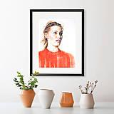 Obrazy - Akvarelový obraz na objednávku - 9537070_