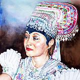 Obrazy - Akvarelový obraz na objednávku - 9537284_