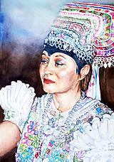 Obrazy - Akvarelový obraz na objednávku - 9537290_