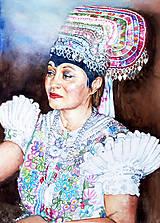 Obrazy - Akvarelový obraz na objednávku - 9537295_