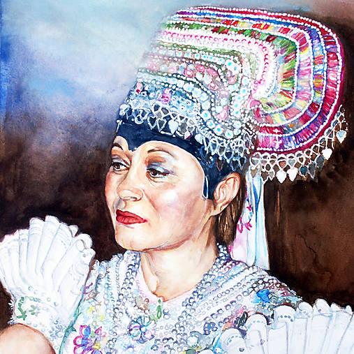 Akvarelový obraz na objednávku