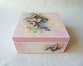 Krabičky - Drevená šperkovnica - 9536086_
