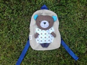 Batohy - Batoh s medvedíkom námorníkom - 9534746_