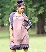 Šaty - Šaty - světle bordó - 9536945_