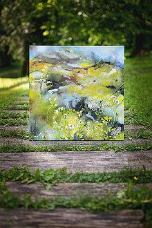 Obrazy - V lete na lúke,v krajine bzukotu - 9535139_