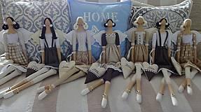 Bábiky - Anjelky pre Ivanku - 9537601_