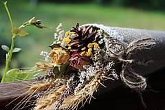 Dekorácie - Sušená kytica - 9537564_