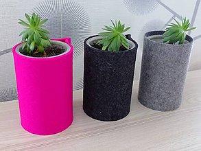 Nádoby - LAMA recyklované kvetináče II. - 9539066_
