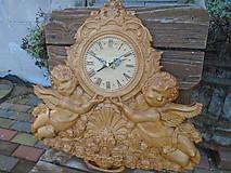 Hodiny - drevorezba hodiny - 9538492_