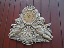 Hodiny - drevorezba hodiny - 9538524_