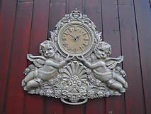 Hodiny - drevorezba hodiny - 9538525_