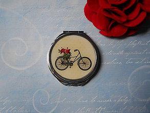 Zrkadielka - Zrkadielko s bicyklíkom - 9538888_