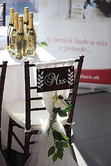 Tabuľky - Svadobné tabuľky MR MRS 1 - 9538057_