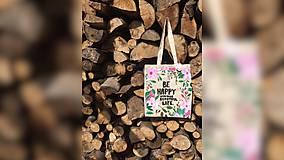 Iné tašky - ♥ Plátená, ručne maľovaná taška ♥ - 9539923_
