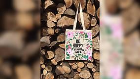 Iné tašky - ♥ Plátená, ručne maľovaná taška ♥ - 9539928_