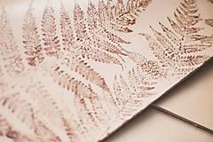 Kabelky - Kožená kabelka Veľká PEAK botanic (reálna papraď) - 9540005_