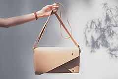 Kožená kabelka PEAK basic