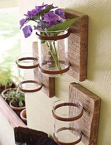 Dekorácie - Minimalistická váza na stenu - 9540269_