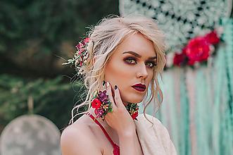 Prstene - Kvetinový prstienok - 9539259_