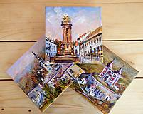 Obrazy - Traja kamaráti VIII. (Banská Štiavnica) - 9537611_