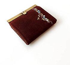 Peňaženky - Peňaženka s priehradkami Popínavka - 9538473_