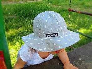 Detské čiapky - Letný klobúčik - 9539617_