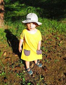 Detské oblečenie - Letné dievčenské šaty - 9539630_