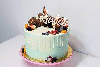 Dekorácie - Zápich na tortu s číslom 3 - 9543351_