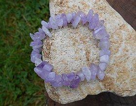 Náramky - violet stone II - 9542369_