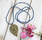 - Jemný korálkový náhrdelník