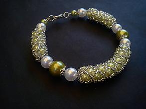 Náramky - Náramok - perleť - 9540627_