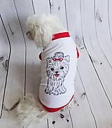 Pre zvieratká - Bavlnené tričko - 9542030_