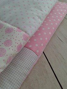 Textil - Patchwork deka *pastelka* - 9541803_
