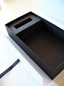 Papiernictvo - box na 200 fototiek + Usb- autorský model - 9542142_