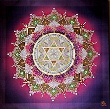 Obrazy - Mandala...Láska s vôňou orgovánu - 9543442_