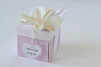 Papiernictvo - Svadobný exploding box - 9543341_