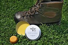 Materiál ručne robený - Prírodný vosk na obuv 100 ml - 9541088_
