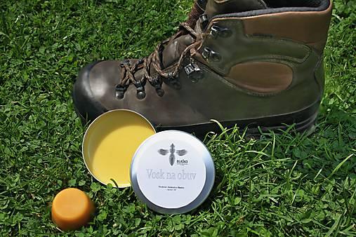 Prírodný vosk na obuv 100 ml