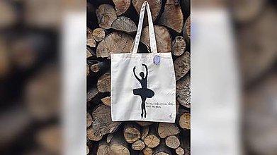Iné tašky - ♥ Plátená, ručne maľovaná taška ♥ (JL1) - 9540551_