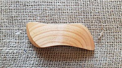 Ozdoby do vlasov - 028 Drevená spona do vlasov - 9540759_