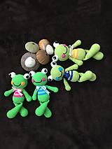Hračky - žabka v tričku - 9541772_