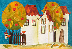 Kresby - Pani Jeseň 3 - 9540508_