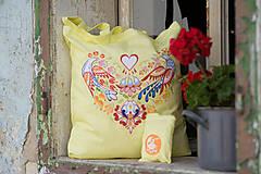 Nákupné tašky - Taška srdiečko - 9541381_