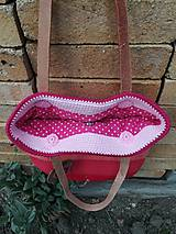 Veľké tašky - ružová dúhová - 9543100_