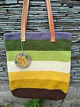 Veľké tašky - Žltá dúhová - 9543166_